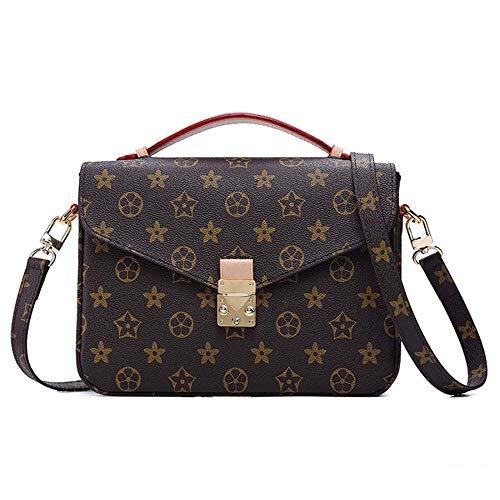SPFBAG Damen Umhängetasche Europäische und amerikanische Mode Top Layer Rindsleder Handtasche Trend Quaste Leder Handtasche Vertikalschnitt Tote Bag