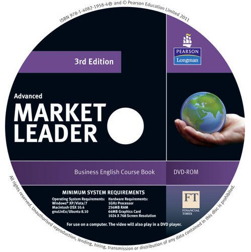 Market Leader 3rd edition Advanced DVD-Rom for pack Advanced Dvd