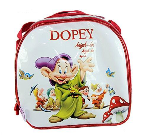 Disney princess biancaneve e i sette nani 'dopey' borsa termica per il pranzo