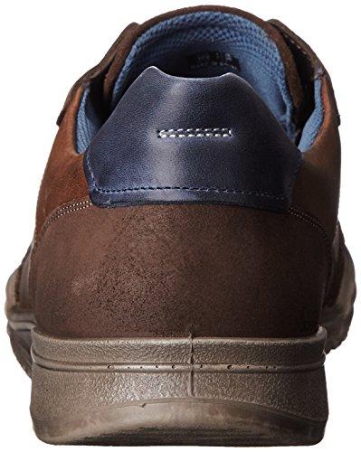 ECCO Fraser, Sneaker a Collo Basso Uomo Marrone(Espresso/Cocoa Brown/Marine 58621)