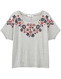 Promod T-Shirt mit Blütenprint