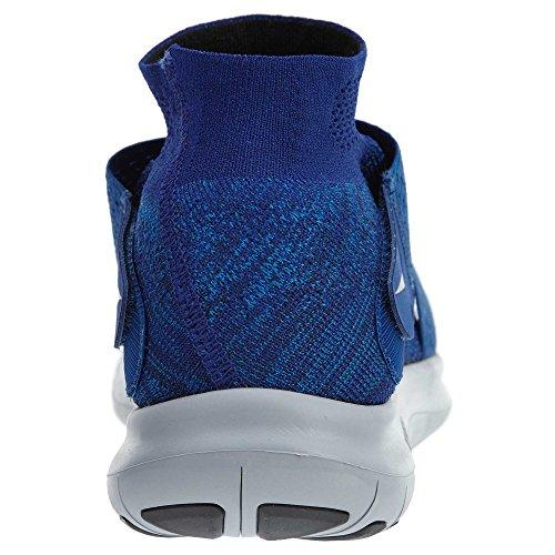 Nike Mens Free Rn Motion Fk 2017 Scarpe Da Corsa Multicolore (binario Blu / Nero / Ossidiana / Blu Palestra)