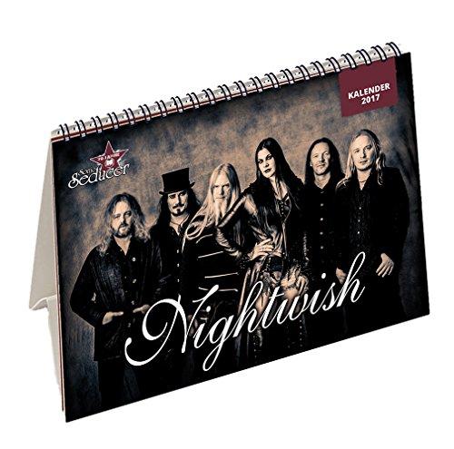 Sonic Seducer 12-2016/01-2017 Limited Edition mit Nightwish Tischkalender 2017 (299 Ex.) + Nightwish Titelstory + DVD: M'Era Luna 2016 - Der Film, Teil 1, Bands: Depeche Mode, Blutengel u.v.a.
