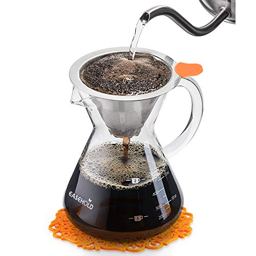 EASEHOLD Pour Over Coffee Maker ...