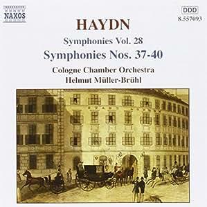 Haydn - Symphonies Nos 37 - 40