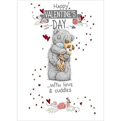 Me to You Teddybär, Aufschrift Happy Valentine's Day to The Dog (Valentines Day Pack Von Karten)