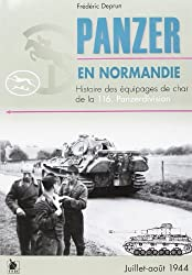 Les panzer en Normandie