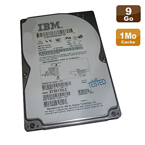 'Hard disk 9 1 Gb Scsi 80pin 3 5 IBM Seagate st39175lc 7200rpm 1 MB