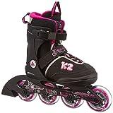 K2 Mädchen Inline Skate Set Roadie Pack Jr Girls, mehrfarbig, M, 30A0724.1.1.M