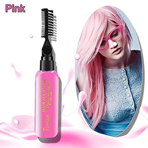 Nagelneue Haarfarbe für Heimwerker schmerzt das Haar nicht Leicht zu reinigen Ungiftige einmalige temporäre Wimperntuschen-Haarcreme 13 Farben