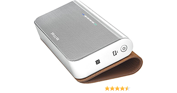 Sangean Bts 102 Portable Stereo Bluetooth Speaker Bluetooth 4 0 Nfc Hands Free Function Usb 5 V Aux In Silver Mp3 Hifi