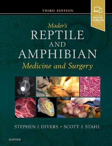 MADERS REPTILE AND AMPHIBIAN MEDICINE AND SURGERY 3ED (HB 2019)