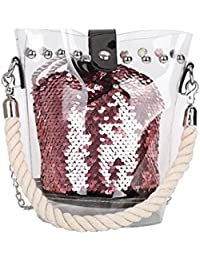 7ae08c5ac KanLin1986❤ Bolsos de mujer transparentes,bolso mano fiesta bolso de mano  bombonera bolsos de playa de mujer…