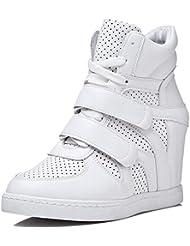 PP Fashion - Zapatillas para mujer Blanco blanco