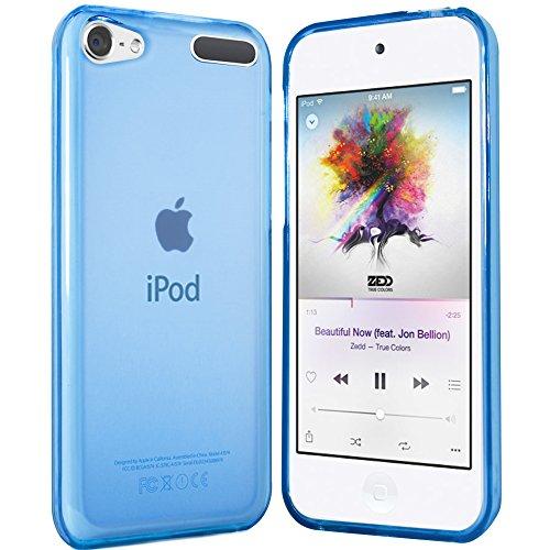 iPod Touch 6G Hülle in Blau - Silikonhülle Case Schutzhülle Tasche für Apple iPod Touch 6. Generation 2015 (Ipod-blau)