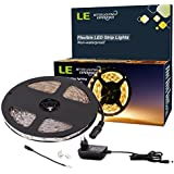 LE Streifen Set 5m 3528 LEDs 12V LED Lichtleiste led strip Lichtband Komplett Set Netzteil/Trafo inkl. (Warmweiß)