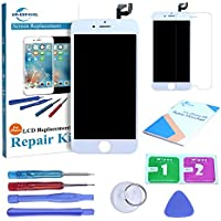 "ER-estavel Schermo per iPhone 6S (4.7"") Completo Assemblato Touch Screen Digitizer Display LCD + utensili inclusi (Bianco)"