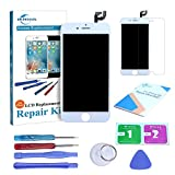 ER-ESTAVEL Bildschirm Compatible für iPhone 6S Weiß LCD Display Ersatz mit Werkzeuge(4.7'')