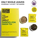 #7: Onlyleaf Dandelion Green Tea, 52 Tea Bags with 2 Free Exotic Samples