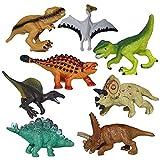 Realistische Dinosaurier, moonvvin Jumbo Kunststoff Dinosaurier sortiert Zahlen, Walking Dinosaurier für Kinder Spielzeug Weihnachtsgeschenk