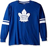 NHL Toronto Maple Leafs lang Arm Sleeve Tee mit doppelter Arm Streifen, 3X, Royal