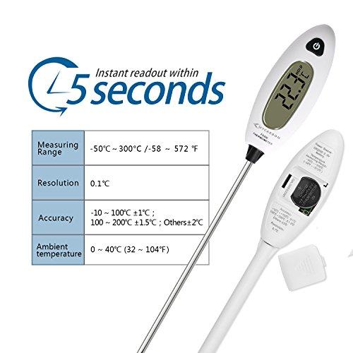 Zoom IMG-2 mycarbon termometro da cucina digitale