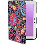 Google Nexus 10 Tablet Case by 32nd®, Design Book PU Leather Folio Cover for Samsung Google Nexus 10, Including Screen Protector - Jellyfish