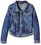 Pepe Jeans Mädchen New Berry Jacke, Blau (Denim), 12 Jahre