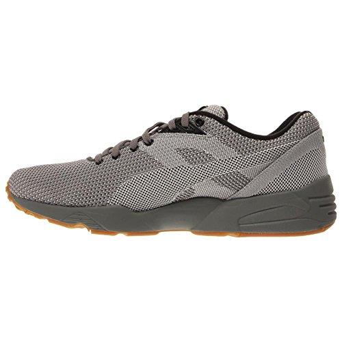 Puma R698 Knit Mesh v2 Toile Baskets Steel Gray