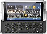 Nokia E7-00 Smartphone (10.2cm (4 Zoll) Clear-Black AMOLED Touchscreen, QWERTZ-Tastatur, 8 MP Kamera, GPS, WiFi, Ovi Karten, HDMI, 3.5mm Buchse) silver white