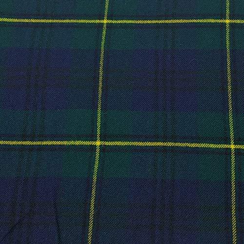 Johnstone Moderner Tartan-Stoff, 100% reine Wolle, hergestellt in Schottland, 284 g -