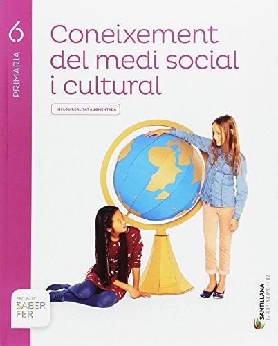 Coneixement del medi social i cultural 6 primaria saber fer