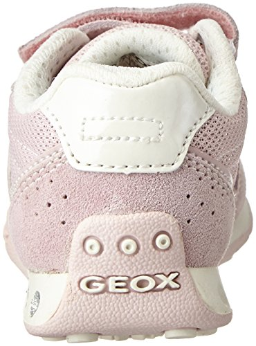 Geox Jr New Jocker A, Sneakers Basses Fille Rose (Lt Rosec8172)