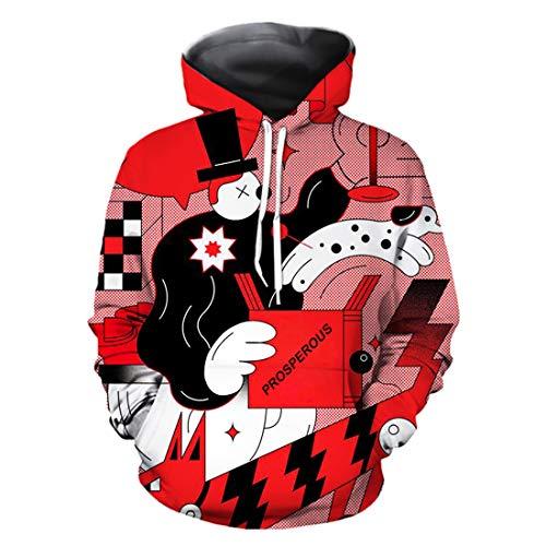 URVIP Unisex Kinder Jungen Mädchen Lustig Hoodies Kapuzenpullover Coole 3D Grafik Drucken Sweatshirts Galaxy Langarm Sweater Pullover Hooded für 2-13Y QZ228 XS (Kinder Batman Zwei Kostüm Hoodie)