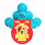 The Dog's Balls, 12 Dog Tennis Balls, Premium, Strong Dog Ball, Dog Toy for Puppy Training, Play, Exercise & Fetch. Tough Balls for Chuckit Launchers. The King Kong of Dog Balls