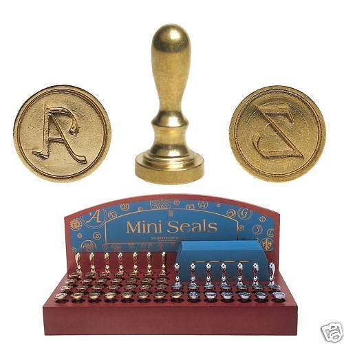 Manuscript Mini Siegel Anfangsbuchstaben U Wachs-stempel