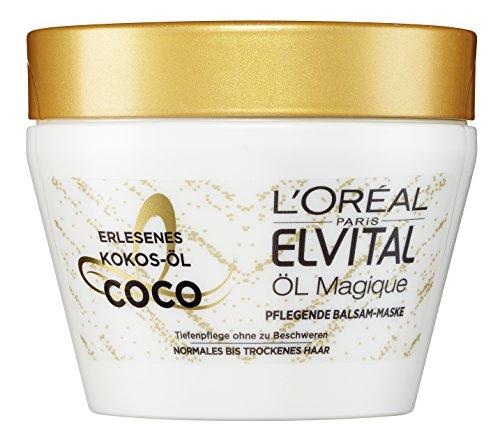 elvital coco L'Oréal Paris Elvital Öl Magique Coco Maske, 2er Pack (2 x 300 ml)