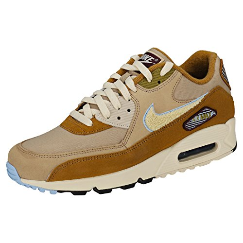 Nike air max 90 premium se, scarpe da ginnastica uomo, marrone (muted bronze/light cream/royal 200), 43 eu
