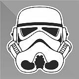 Sticker Star Wars Stormtrooper - Decal Auto Moto Casco Wall Camper Bike Adesivo Adhesive Autocollant Pegatina Aufkleber - cm 12