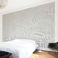 Apalis Vliestapete Nummer DS4 Zebrastreifen Fototapete Breit | Vlies Tapete  Wandtapete Wandbild Foto 3D Fototapete Für