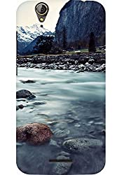AMEZ designer printed 3d premium high quality back case cover for Acer Liquid Z630S (sceneary nature)