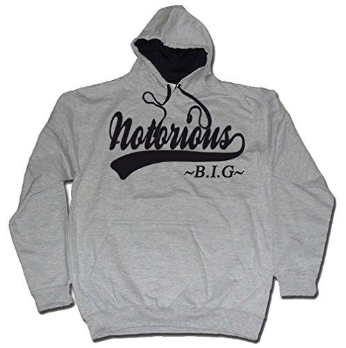 Team Notorious BIG Biggy MP3 Hoody Black From Dibbs Grey