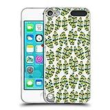Offizielle Pom Graphic Design Banane-Blätter Muster 2 Soft Gel Hülle für Apple iPod Touch 5G 5th Gen