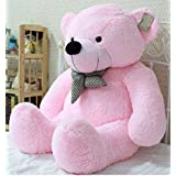 Shah Brothers Cute Lovable Soft Big Teddy Bear for Girls and Boys (Pink, 3ft)