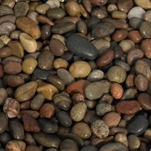 Petites pierres Décoration (Pebble) Lit de Rivière Naturelle pour plateau Bougie/Vase–1kg
