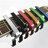KING DO WAY Aluminium Metal Kapodaster Capodaster für akustische und elektrische Gitarren Blau