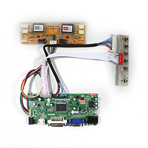 HDMI + VGA + DVI + Audio a cristalli liquidi Input Controller Board Per LM230WF1 M215HW03 21,5' 23' pannello 1920x1080 4CCFL LCD