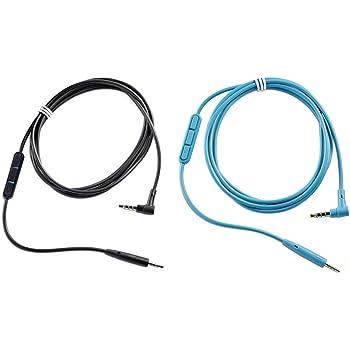 Bose Cavo con Telecomando e Microfono in Linea per Cuffie QuietComfort 25 per Dispositivi Samsung e Android, Nero
