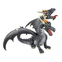 Double-Headed Dragon Figurine by Bullyland GmbH - Spraitbach
