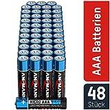 ANSMANN Pile Mini Stilo AAA Alcaline Batterie LR3 - Confezione da 48 Batteria